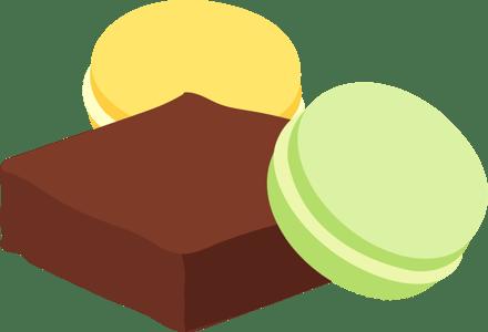 Brownie_Macaron_Isometric